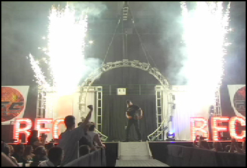 horgans indoor  pyro intro effectspecialist.com