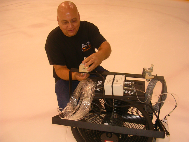 Zigmont installing a T 1500 and auto refill system