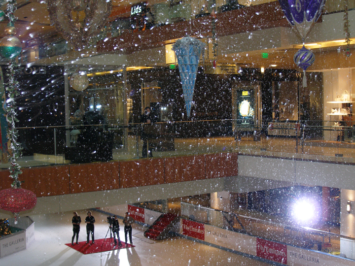 Image result for snowing indoors