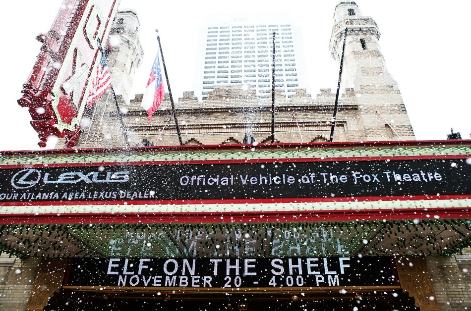 An Elf's Story World Premiere: T - 1000 evaporative snow machine  The Fox Theatre