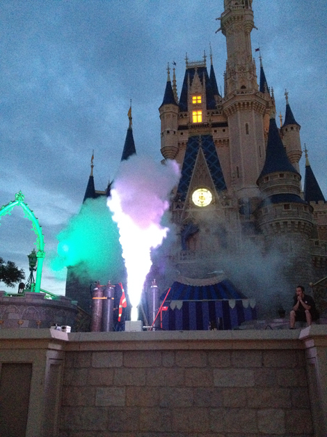 co2 cryo jets at Disney Demo