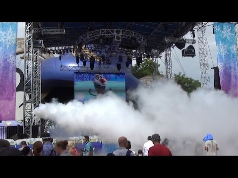 sigma professinal grade cryo co2 FX jets at Disney