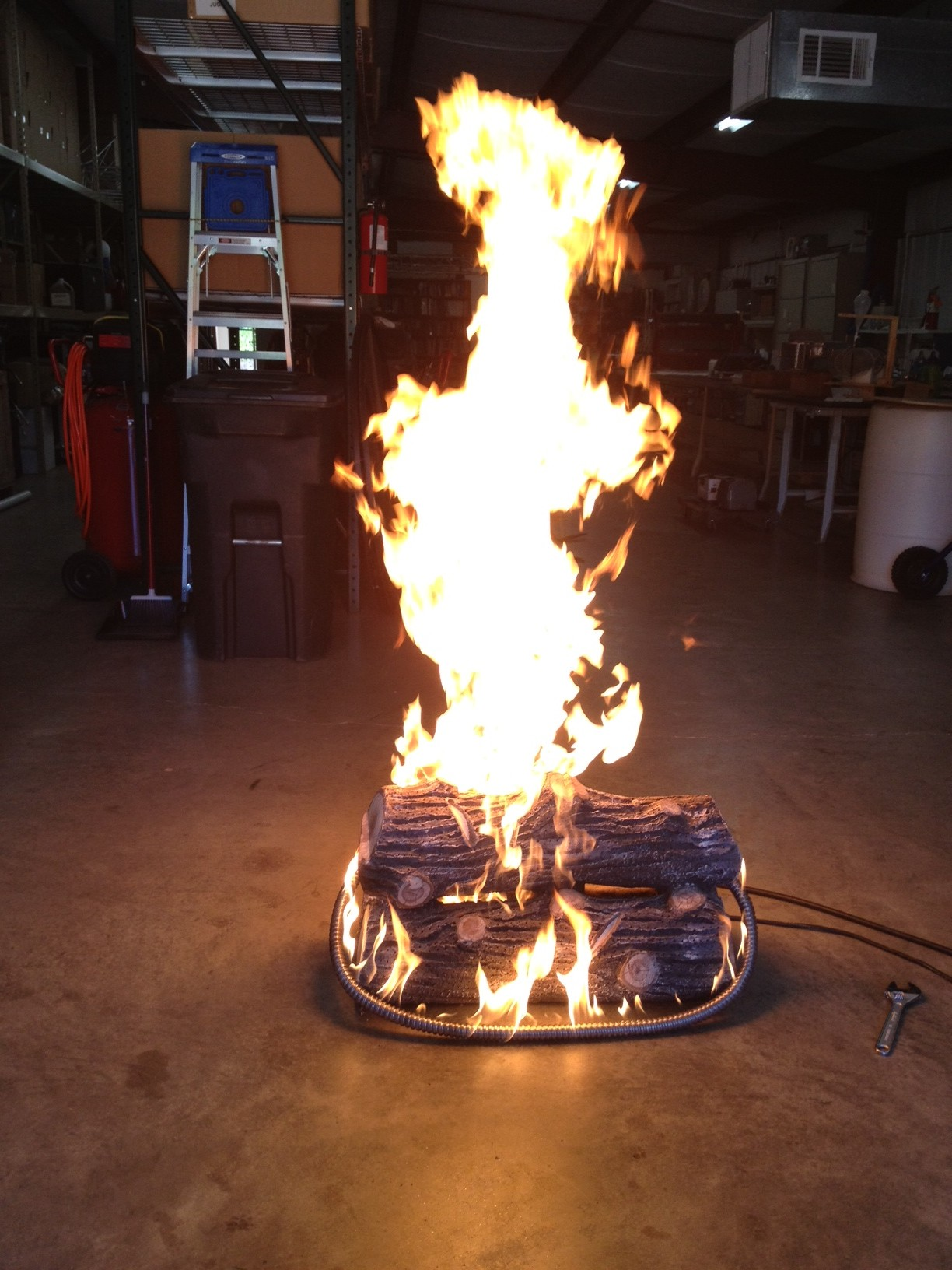 propane fire pits campfires for beach parties special effects