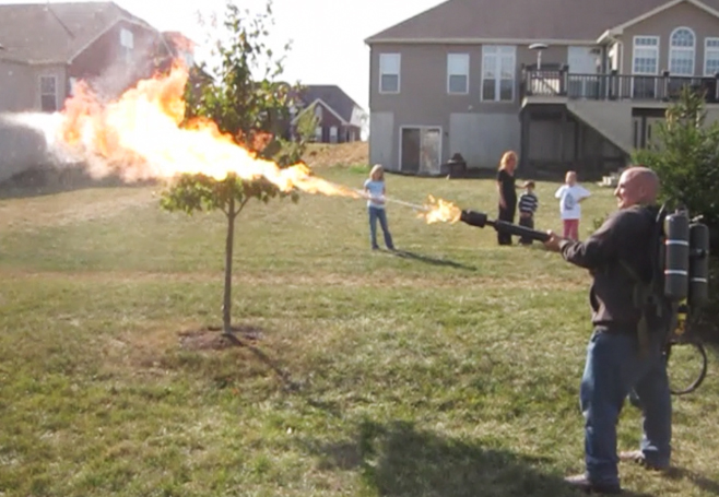Propane Torch Flame Thrower