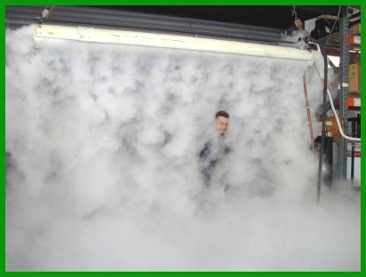 C02 Cyro Fog Curtain
