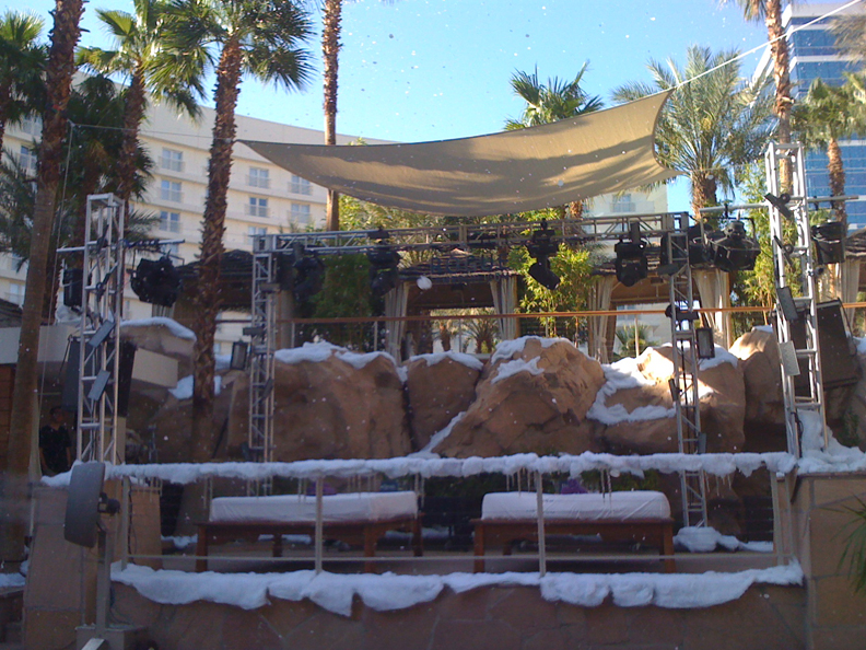 snow deco at hard rock casino