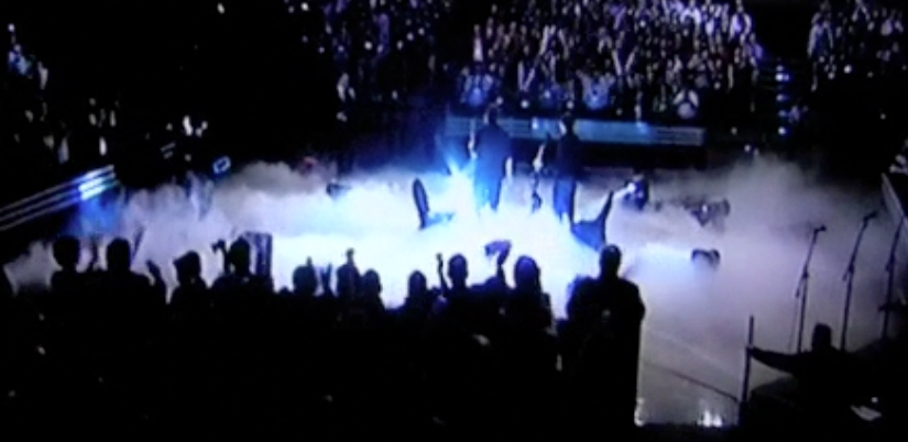 lsg cryo effect  at a concert
