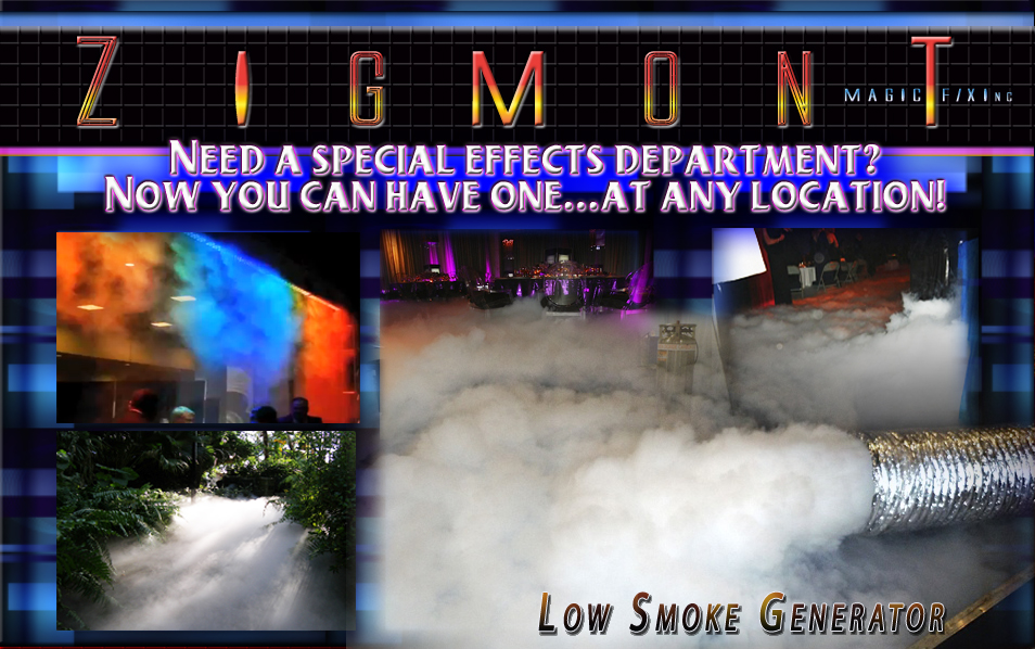 low smoke generator for low lying crawling smoke , which is a LSG , cold flow, Cryo fog