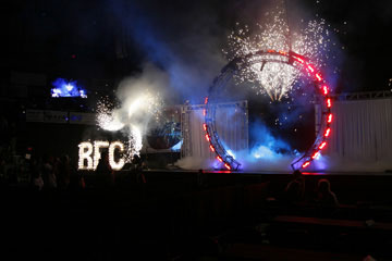 RFC indoor Pyrotechnics by Magic FX