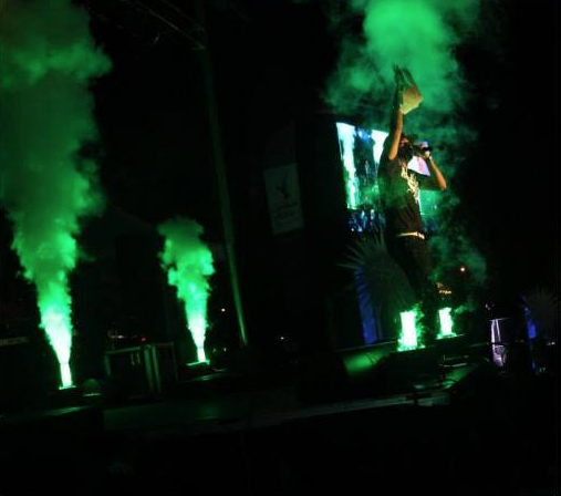 Green co2 cryo jets in concert