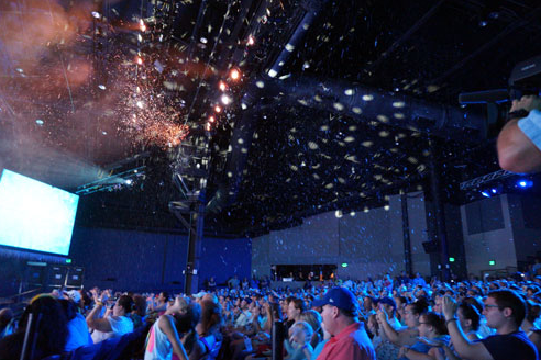snow machines by effectspecialistb at disney frozen sing a long