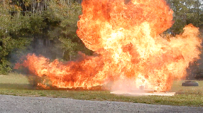 hollywood special effects floridamove flame explosion