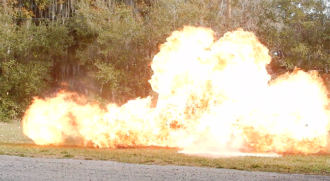 special effects florida hollywood move flame explosion