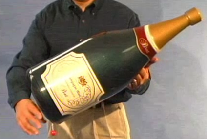 The Champagne Blast cannon