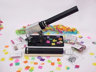 Electric Stage Mortar confetti launcher