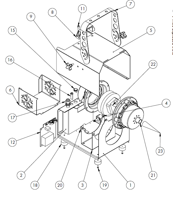 snow machine parts