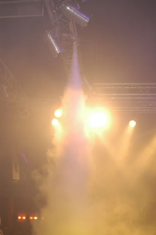 CO2 jet nozzle at a club