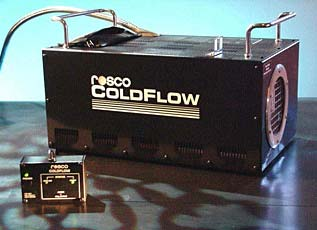 cold flow low crawling fog machine