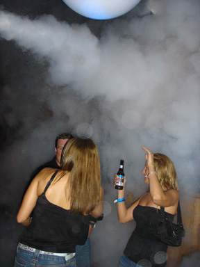 Coors light Dallas cryo fx co2 jets