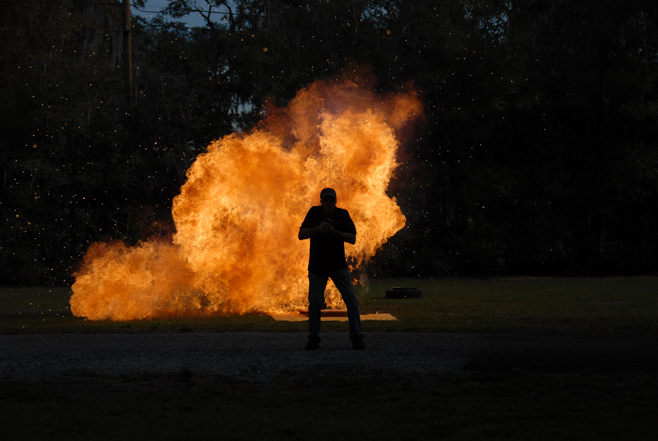 special effects florida hollywood style fire ball FX