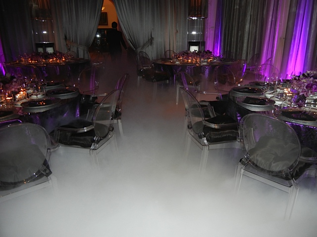 low lying LSG fog at a event