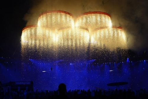 Ultratec Products at The Summer Olympics 2012 Opening Ceremony
