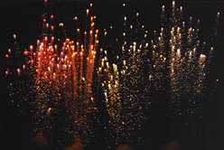color mines indoor pyrotechnics