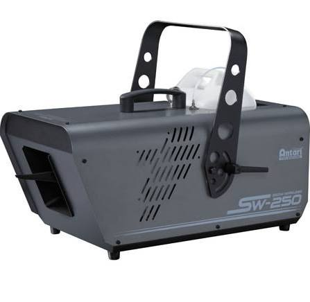 Antari Lighting SW-250X 600W Snow Machine without W-1 Wireless Control, too big of flakes for indoor, not enough snow on a 50% setting and not designed for outdoor.