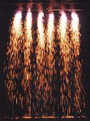 indoor pyrotechnics water falls s
