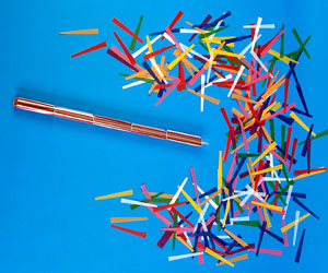 cork screw confetti