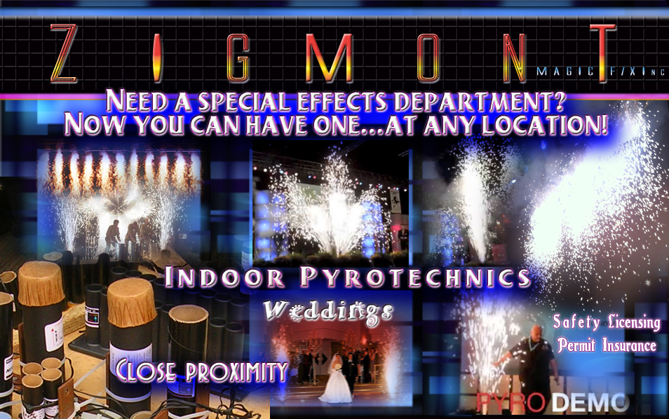 Special Effects Indoor Pyrotechnics Special Effects